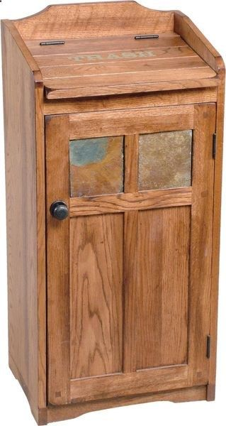 Wooden Trash Cans - Easy Home Concepts