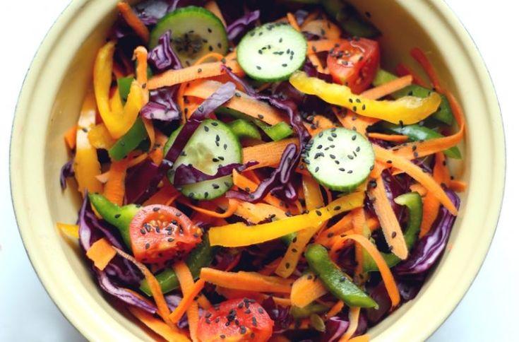 salatka teczowa