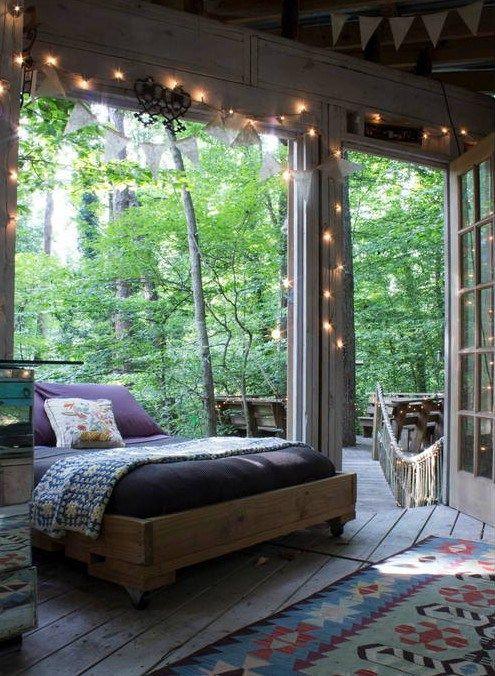 Dormir en haut des arbres