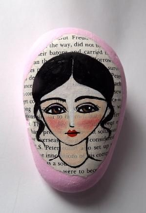 Original Hand Painted Inspirational Rock via Etsy by kristin.small