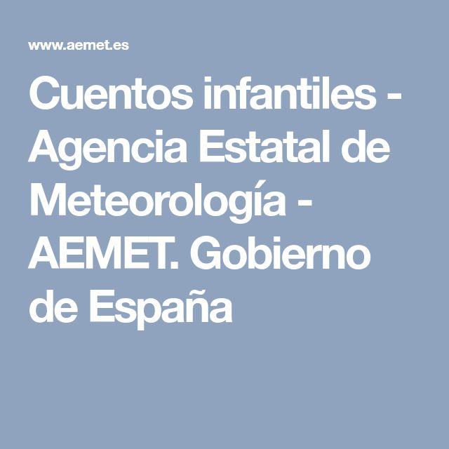 Cuentos infantiles - Agencia Estatal de Meteorología - AEMET. Gobierno de España
