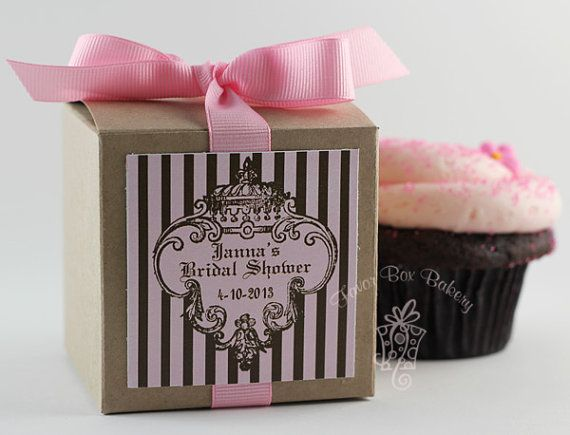 JUICY CUPCAKE COUTURE -Cupcake Mix Party Favors for Weddings, Baby Showers, Bridal Showers, and Bachelorette Parties- Set of 12 Favors via Etsy