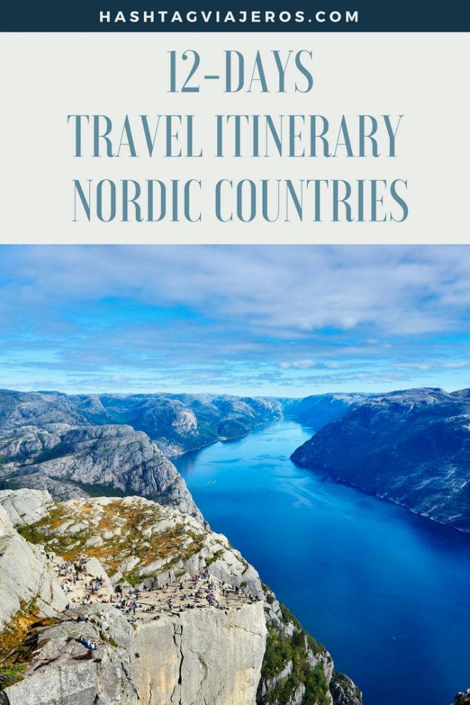 12 days Travel Itinerary Nordic Countries: Denmark, Sweden & Norway | Hashtag #Viajeros