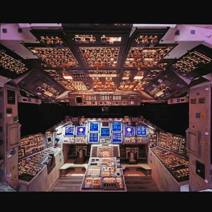 Aeroplane pilot deck