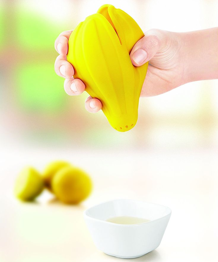 Yellow Citrus Lemon Squeezer