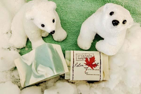 Polar Ice Cap Soap Bar