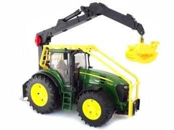 Lesní traktor JOHN DEERE 7930 Bruder 3053