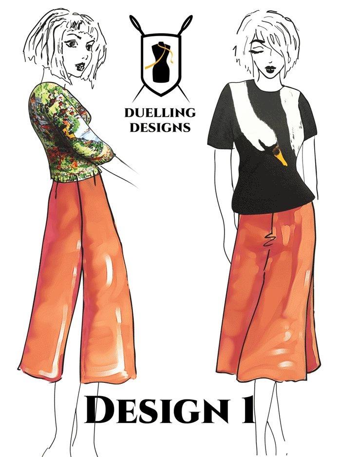 Voting for your favourite design in the Semi-Impossible Design Challenge. www.duellingdesigns.com