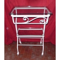 Wrought Iron Consolle Furniture. Customize Realizations. 325