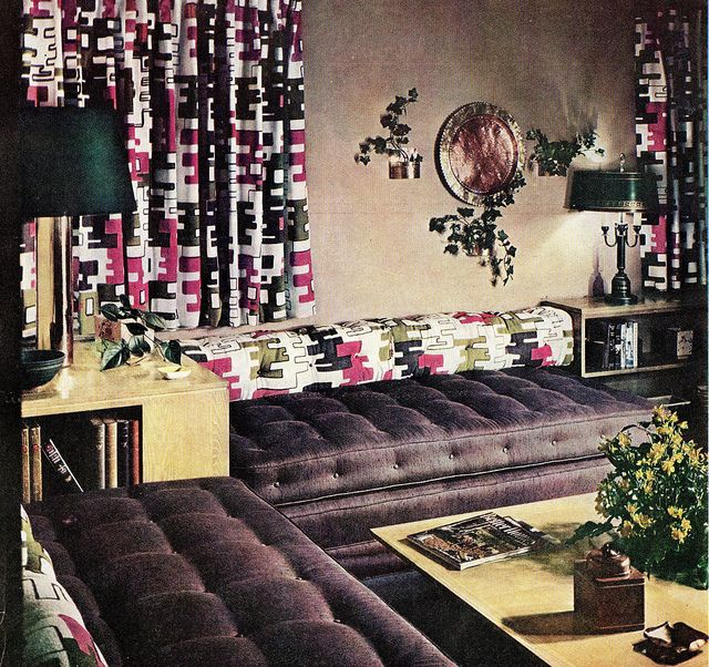 Late 1940s Living Room