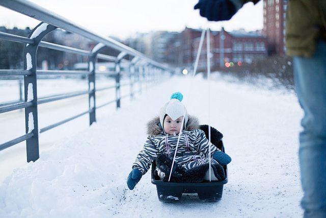 Pulka till Tjärholmen