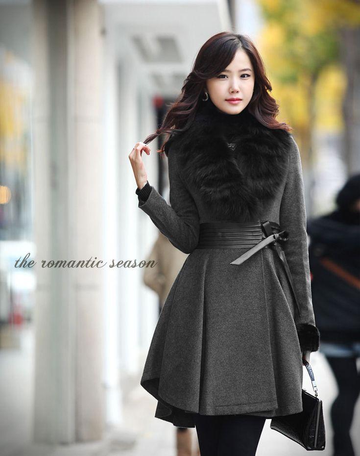 17 Best Images About Moda Coreana On Pinterest Faux Fur Vests Korean Style And Vestidos