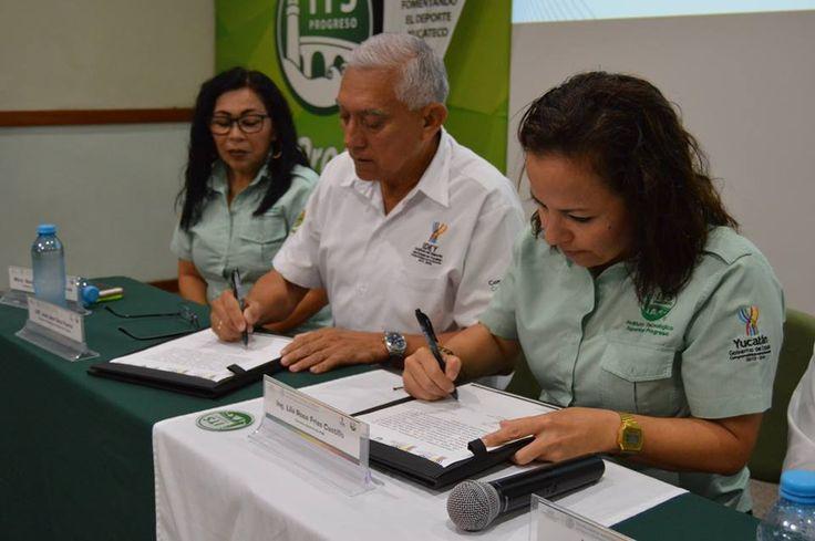 El Tec Progreso firma convenio de colaboración con el IDEY