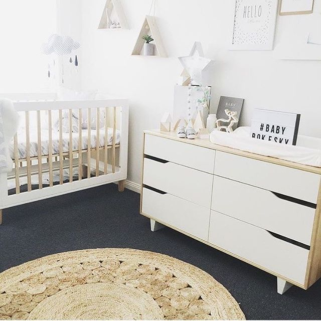 Nursery perfection Our Teeny cot is looking beautiful in here @ash_rokesky x #incyinteriors #teenycot #nursery