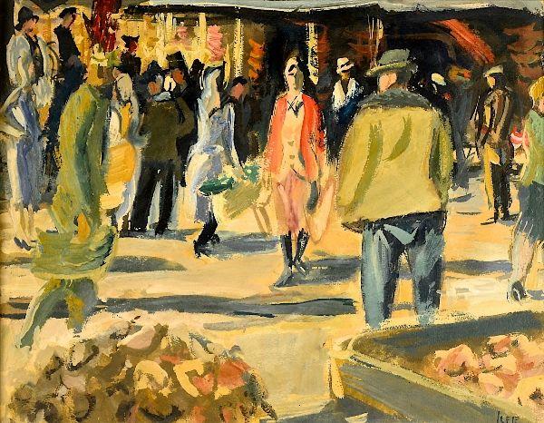 Iosif Iser - La piață