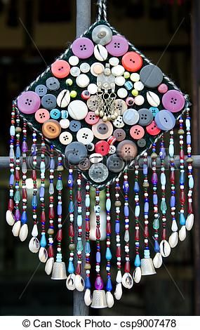 Turkish handcrafted windchime - csp9007478