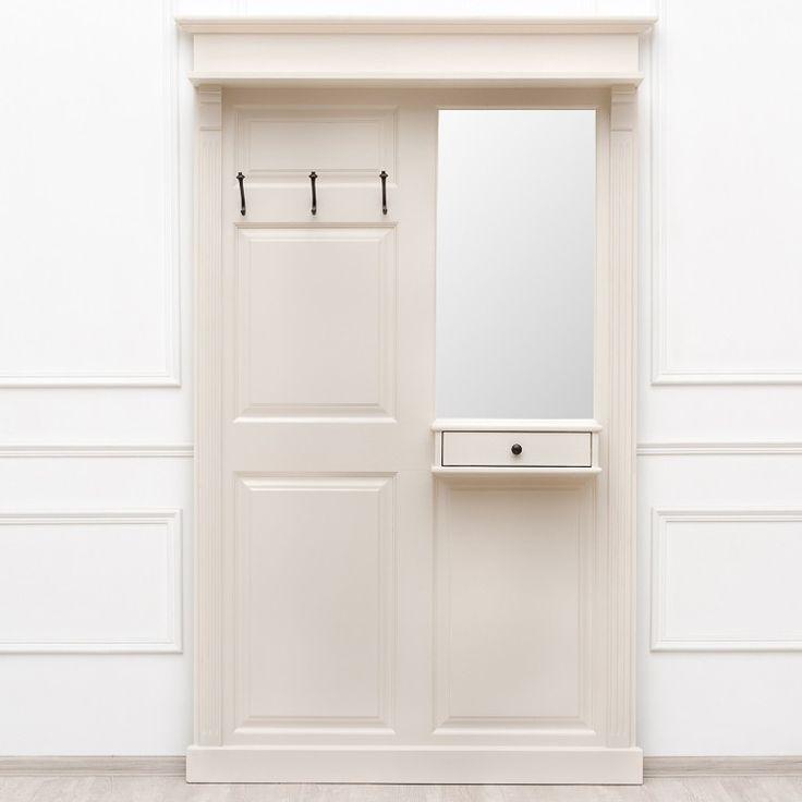 Вешалка с зеркалом Yvonne - Прихожая - Прочая мебель - Мебель по комнатам My…