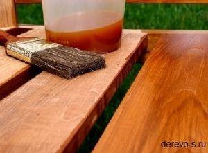 Антисептик для древесины своими руками: состав и приготовление