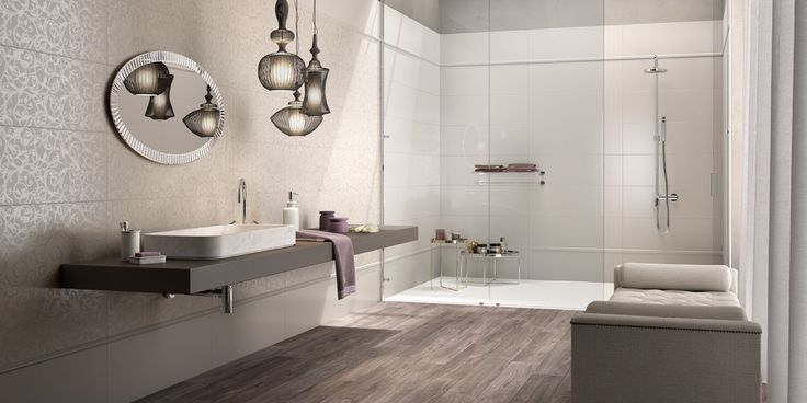 Oltre 25 fantastiche idee su pareti piastrellate da bagno for Piastrelle bagno mosaico grigio