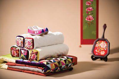 Korean embroidery.