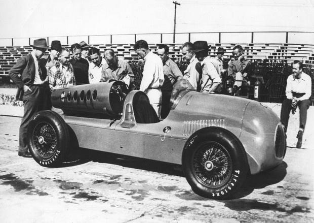 Harry Miller Tucker Race Car