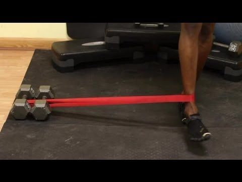 High Level Inner Thigh Exercises With Resistance Bands : Fitness for Beginners