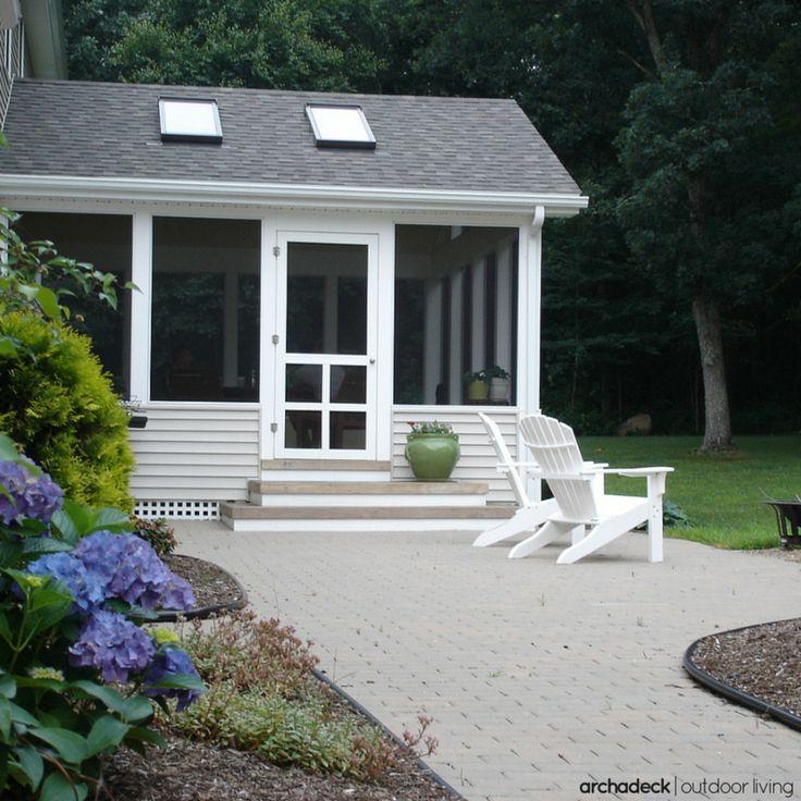 104 best Patio ideas with decks, porches, pergolas and ... on Backyard Patio Enclosure Ideas  id=27437