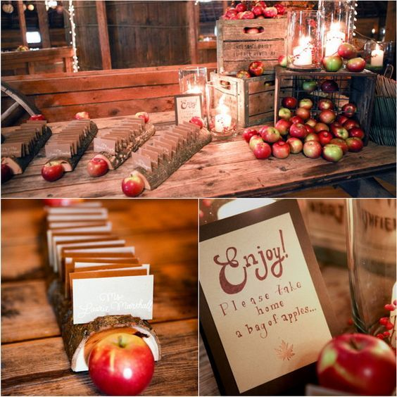 Best 25 apple wedding centerpieces ideas on pinterest for Apple decoration ideas