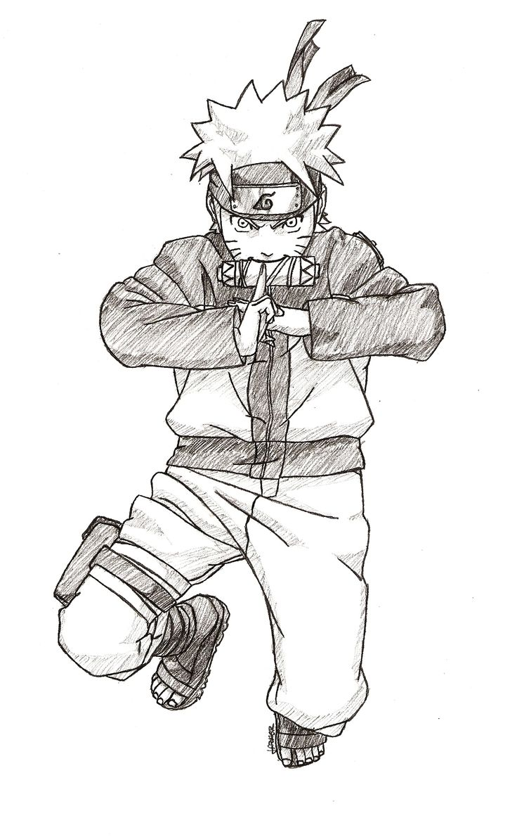 Naruto // Pencil Draw