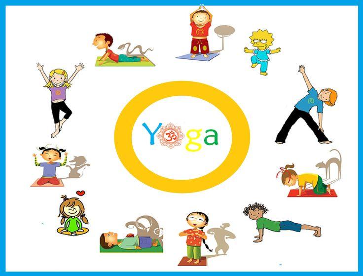 Posturas divertidas; asanas de Yoga infantil