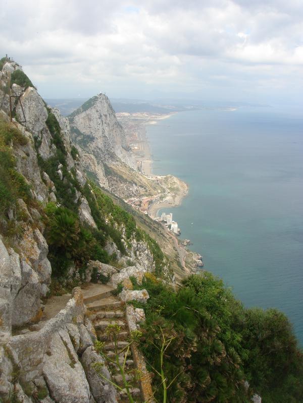 Gibraltar coastline