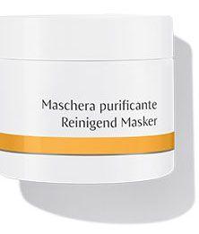 Dr Hauschka Reinigend Masker (voorheen Gezichtsmasker) 90 gram - De werking van het Dr.Hauschka Gezichtsmasker is gebaseerd op de gecombineerde werking van natuurlijke heilzame aarde en de uitscheidings-bevorderende effecten van Oost-Indische kers en toverhazelaar. Verkrijgbaar in een doos met 10 tubes van 10 gram, en een voordelige pot van 90 gram. Het Dr. Hauschka Gezichtsmasker: * maakt op zachte wijze mee-eters en verhooning los * ondersteunt het uitscheidende vermogen van de huid…