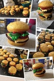 HUNGRY for real food and sweets eat burger cupcakes