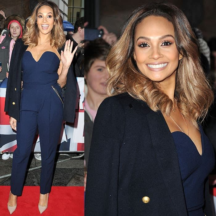 Alesha Dixon in Three Floor at the Britain's Got Talent auditions held at the Waterfront Hall in Belfast, Northern Ireland, on January 18, 2014