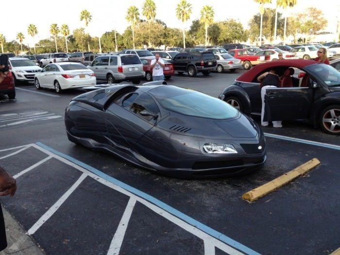 Mobil Futuristik alias Mobil Masa Depan