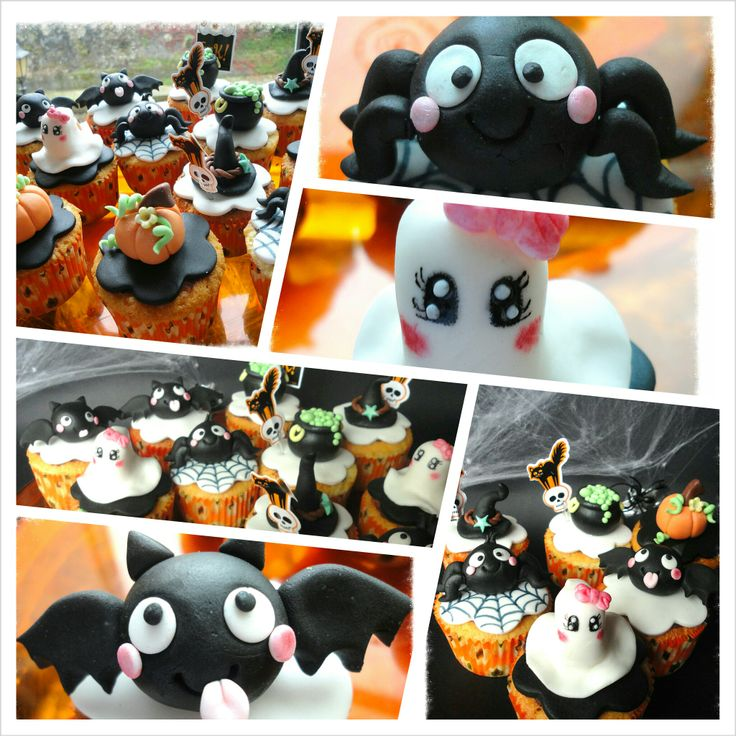 halloween cupcakes inspired by molly coppini - Halloween Inspired Cupcakes