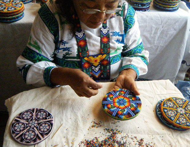 1000 Images About Arte Huichol On Pinterest