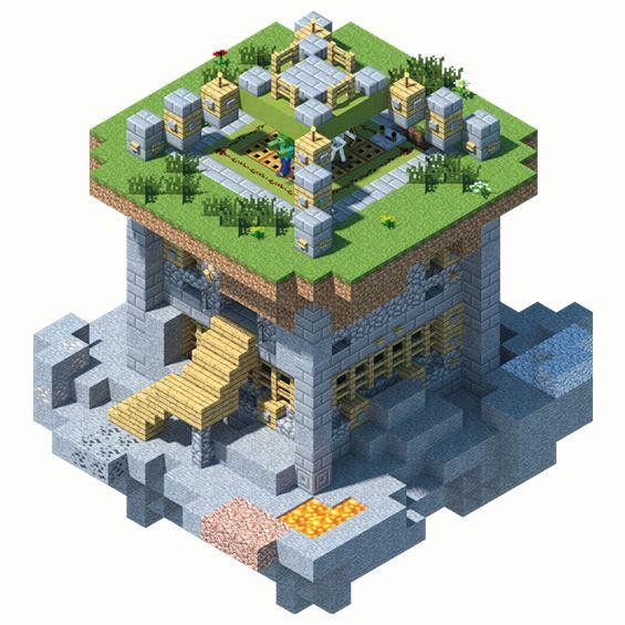 How to Build a Mob Farm Trap | Minecraft art, Minecraft ...