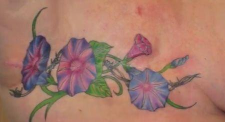 Cancer Survivor Tattoos for Women | Fremont tattoo artist uses her talent on breast cancer survivors ...