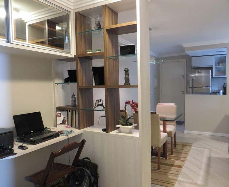 Apartamentos pequenos 320 projetos de profissionais de for Ideas para ambientes pequenos