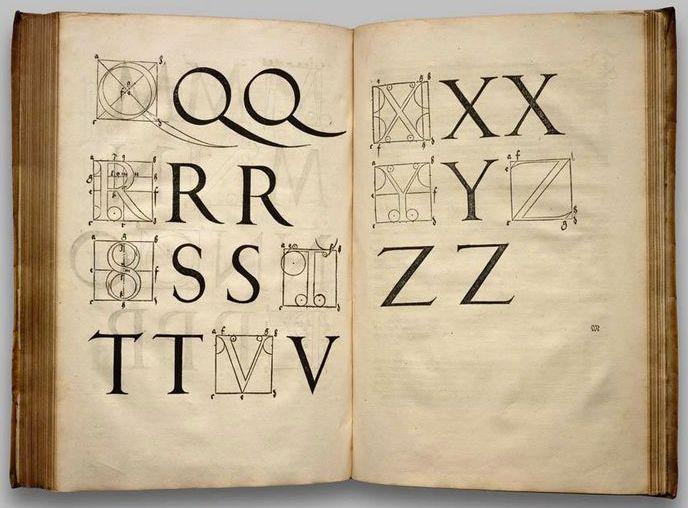 Albrecht Dürer http://en.wikipedia.org/wiki/Albrect_Durer#Four_Books_on_Measurement