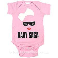 Newborn-Infant Baby Gaga Onesie