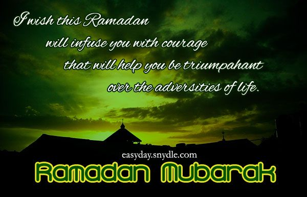 Ramadan Mubarak to ALL Muslims.may Allah give this ummah good in this life and good in the hereafter. And protect us all from the hell fire. Bro.K