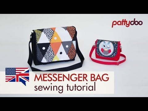 (12) How to Sew a Messenger Bag in 2 Sizes - A Step by Step Sewing Tutorial - YouTube