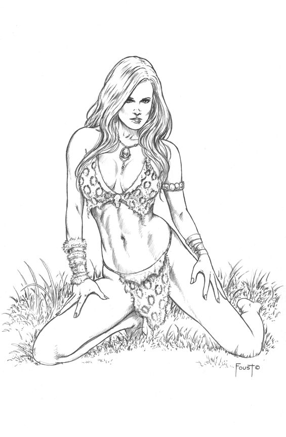 Jungle Girl - Mitch Foust