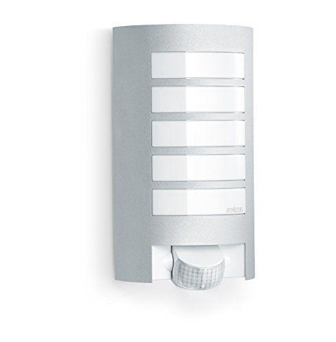 Steinel Sensor-Außenleuchte L 12, Design-Wandleuchte mit 180° Bewegungssensor und 10 m Reichweite, wetterfeste Alu-Blende, E 27 Fassung, Max. 60 Watt, 657918 Steinel http://www.amazon.de/dp/B002S2RY02/ref=cm_sw_r_pi_dp_6ZHswb16FG3RH