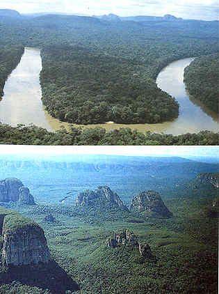 Sierra Chiribiquete Colombia