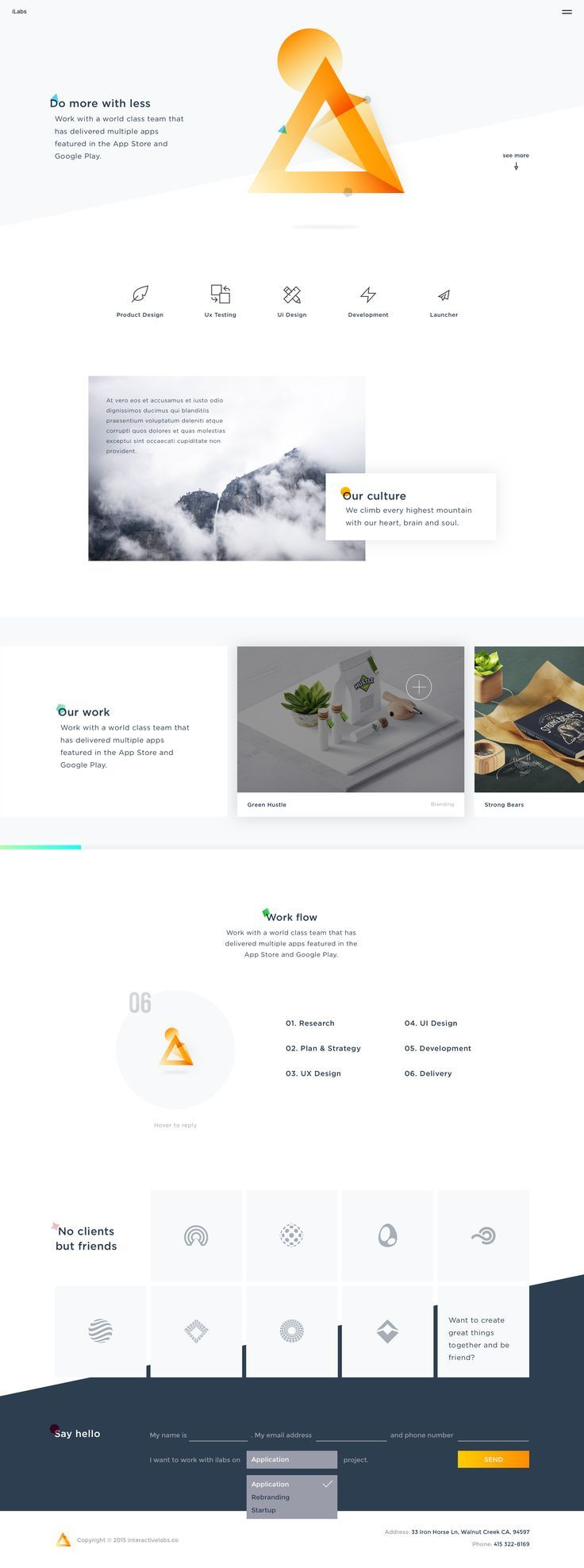 iLabs Web Concept 1 by Hoang Nguyen in iLabs on Feb 22, 2016