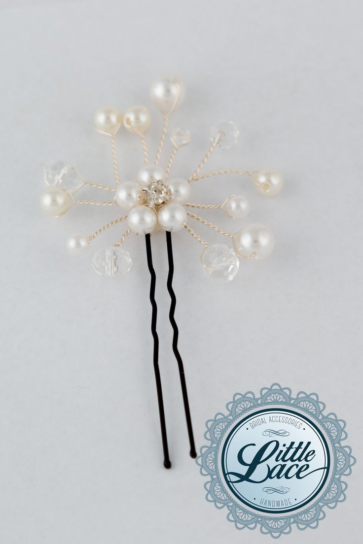 Forest Flower Hair Pin