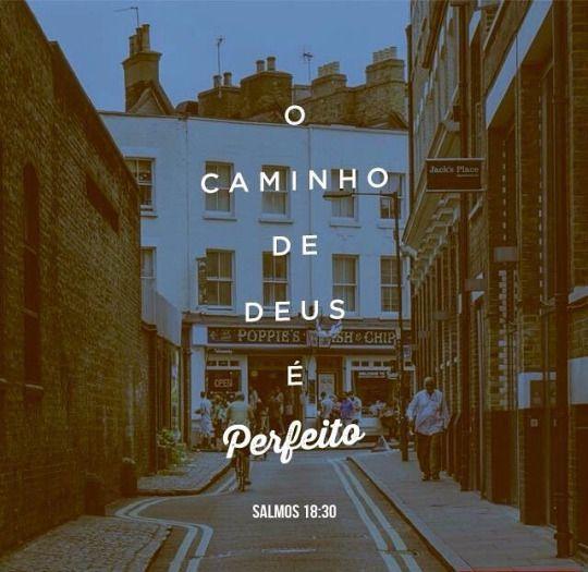 O Caminho de Deus é perfeito!